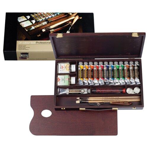 Купить Royal Talens Набор масляных красок Rembrandt Профессионал 12цв*40мл/1цв*60мл, Наборы для рисования