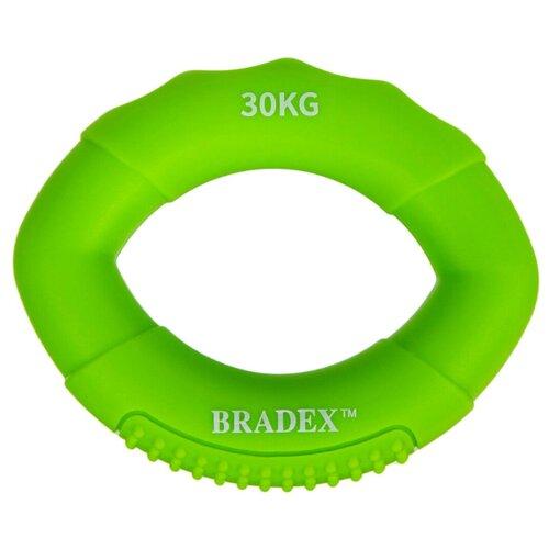 Кистевой эспандер 30 кг, овальной формы, зеленый