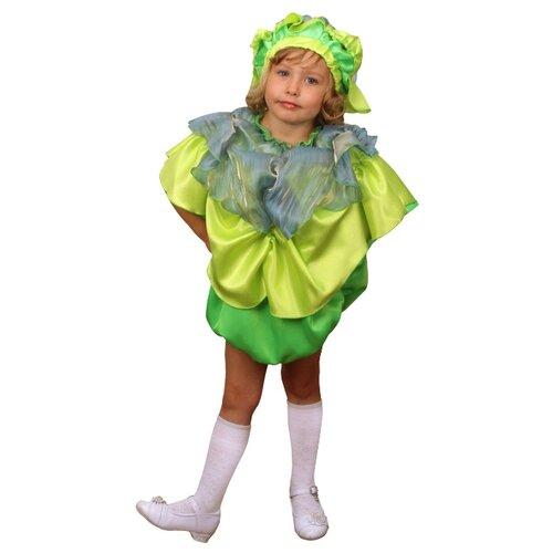Купить Костюм Elite CLASSIC Капуста, зеленый, размер 30 (122), Карнавальные костюмы