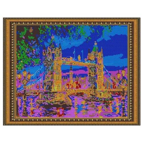 Светлица Набор для вышивания бисером Лондон. Тауэрский мост 38 х 30 см, бисер Чехия (572П)