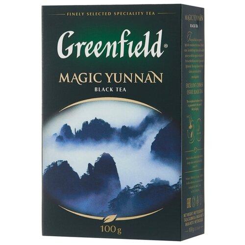 Чай черный Greenfield Magic Yunnan, 100 г greenfield english edition черный листовой чай 100 г
