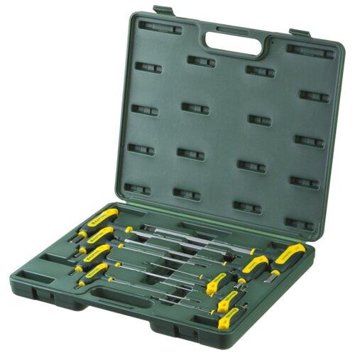 Набор имбусовых ключей Kraftool (9 предм.) 27454-H9 зеленый набор имбусовых ключей stayer 9 предм 2743 h9 серебристый