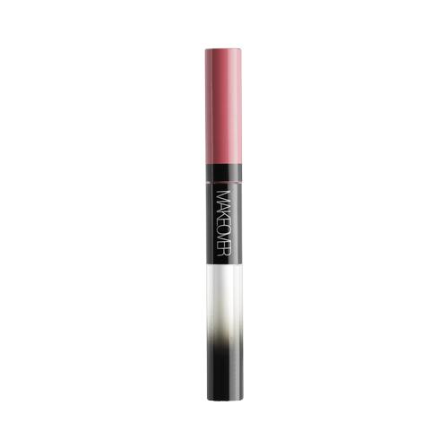 MAKEOVER жидкая помада для губ Waterproof Liquid Lip Color, оттенок All Day Cherry недорого
