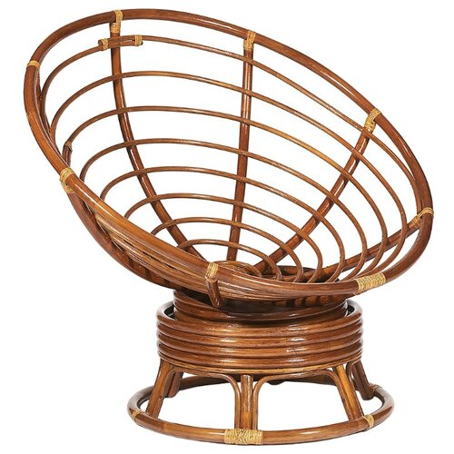Кресло-качалка TetChair Papasan W23/01B орех