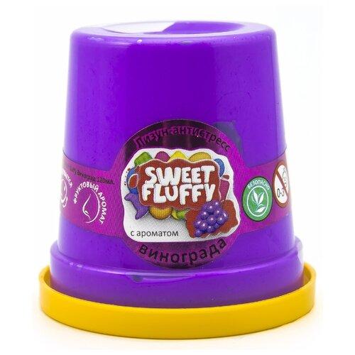 Слайм Mr.Boo Sweet Fluffy, Виноград, 120 гр (ФФ80074)