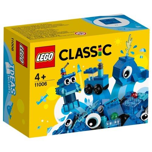 Конструктор LEGO Classic 11006 Синий набор для конструирования, Конструкторы  - купить со скидкой