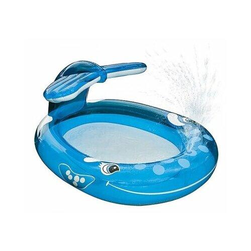 Детский бассейн Intex Whale Spray 57435 детский бассейн intex royal castle baby 57122