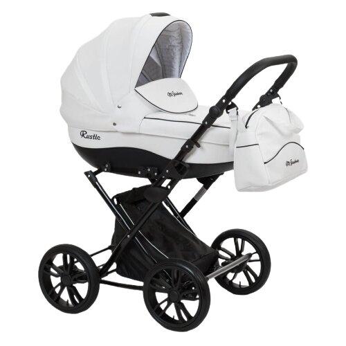 Купить Коляска для новорожденных Mr Sandman Rustle 04 белый, Коляски