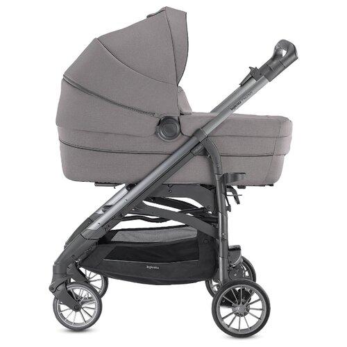 Купить Универсальная коляска Inglesina Trilogy на шасси Trilogy City (3 в 1, с подставкой для люльки) stone grey/grey frame, цвет шасси: серый, Коляски