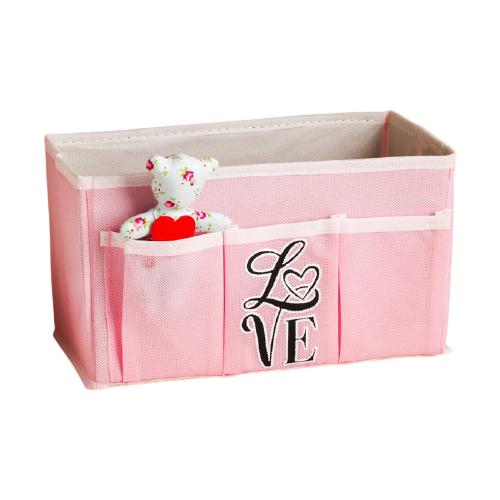 textura короб для хранения с крышкой 28 х 30 х 15 см men style Textura Короб для хранения Love 25 х 12 х 15 см белый/розовый