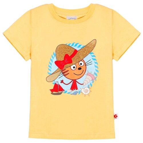 Футболка Frutto Rosso, размер 110, желтый футболка kogankids размер 110 желтый