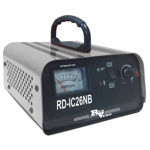 Зарядное устройство RedVerg RD-IC26NB черный/серый зарядное