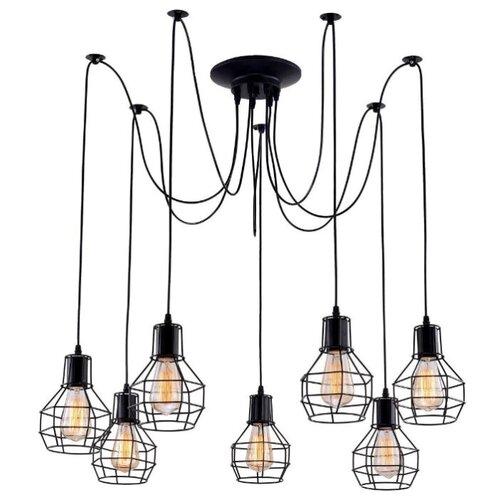 Люстра Arte Lamp A1109SP-7BK, E27, 420 Вт