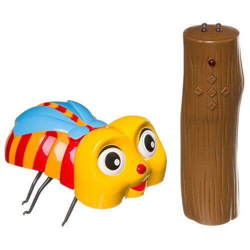 Купить Робот Zhorya Гигантское насекомое ZYB-B1025-4 желтый/коричневый, Роботы и трансформеры