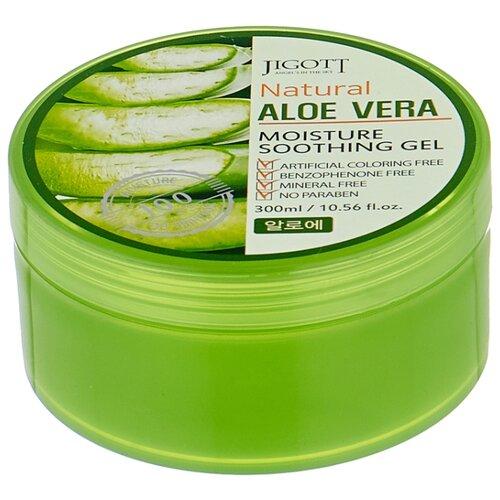 Гель для тела Jigott Natural Aloe Vera, 300 мл