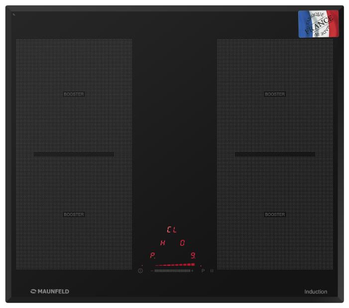 Индукционная варочная панель MAUNFELD MVI59.2FL-BK фото 1