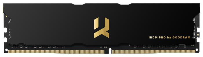 Модуль памяти DDR4 16GB GoodRAM IRP-3600D4V64L17/16G IRDM Pro PC4-28800 3600MHz CL17 радиатор 1.35V