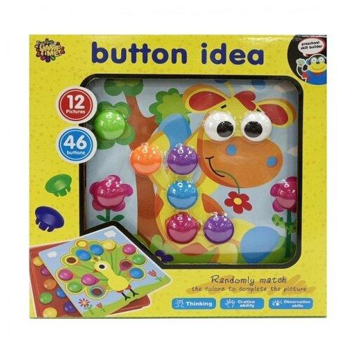Купить Funning Game Time Мозаика Button Idea 46 элементов