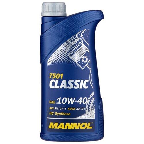 Моторное масло Mannol Classic 10W-40 1 л моторное масло mannol gasoil extra 10w 40 1 л