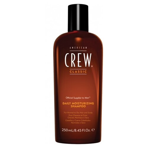 Фото - American Crew шампунь Daily Moisturizing для ежедневного ухода за нормальными и сухими волосами 250 мл american crew шампунь для ежедневного ухода за волосами 450 мл american crew для тела и волос