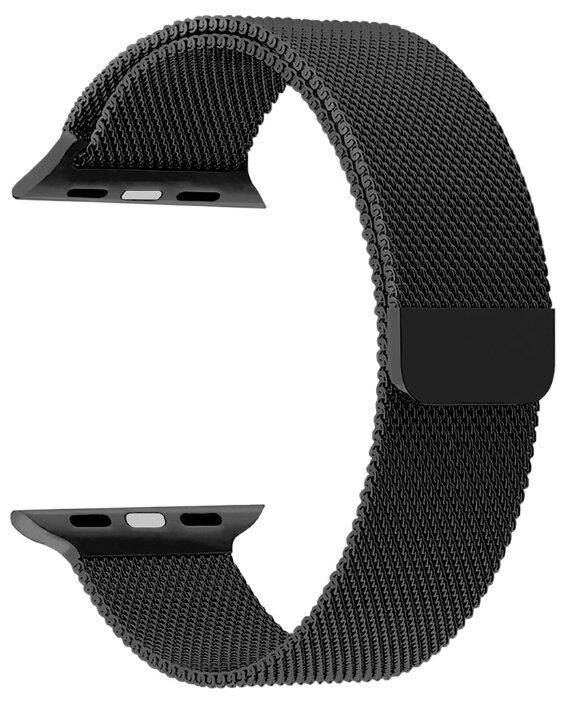 Ремешок LYAMBDA CAPELLA для Apple Watch Series 3/4/5 черный (DS-APM02-40-BK)