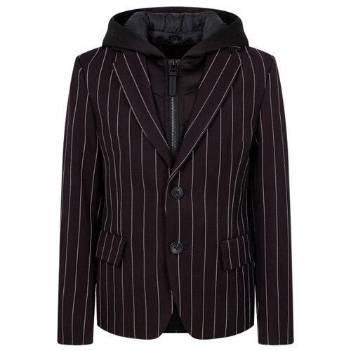 Пиджак Antony Morato размер 164, черный/полоска