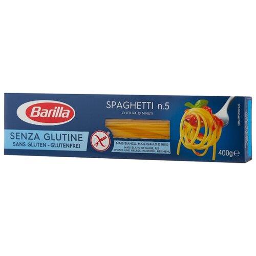 Barilla Макароны Senza Glutine Spaghetti n.5 без глютена, 400 г соус barilla napoletana 400 г