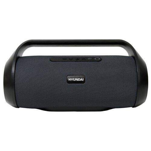цена на Портативная акустика Hyundai H-PAC420 черный