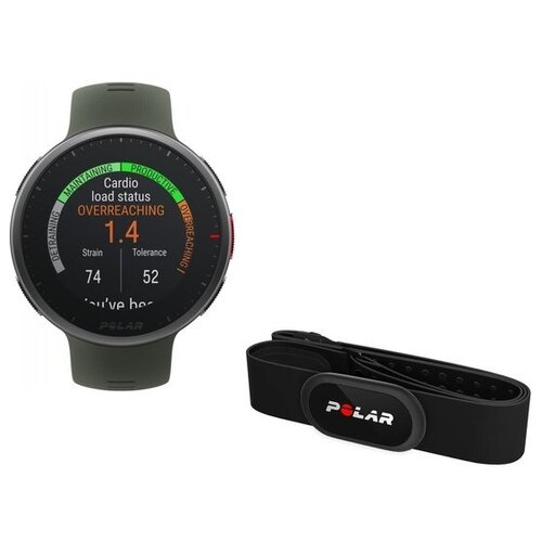Умные часы Polar Vantage V2 с датчиком H10 зеленый M/L
