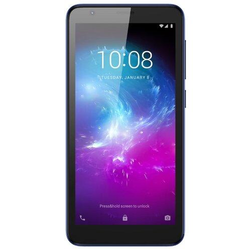 Смартфон ZTE Blade L8 1/32GB синий смартфон