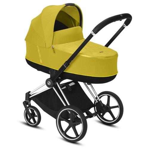 Купить Универсальная коляска Cybex Priam III (2 в 1) mustard yellow/chrome/black, цвет шасси: серебристый, Коляски