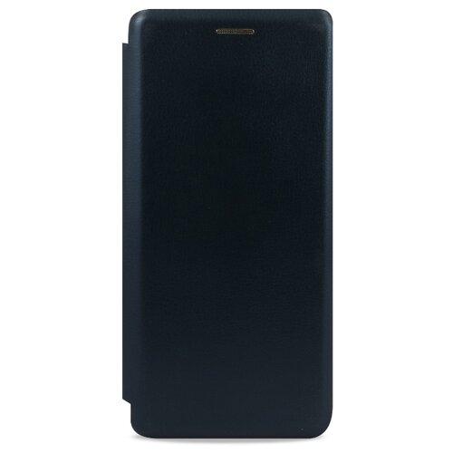 Кожаный чехол для Xiaomi Redmi 7 и Redmi Y3 / Чехол Книжка на Сяоми Редми 7 и Редми У3 с кармашком для карт (Синий) чехол для xiaomi redmi 7 214440