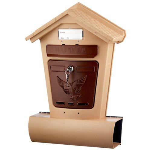 Почтовый ящик Цикл Элит 6866-00 502х348 мм, коричневый