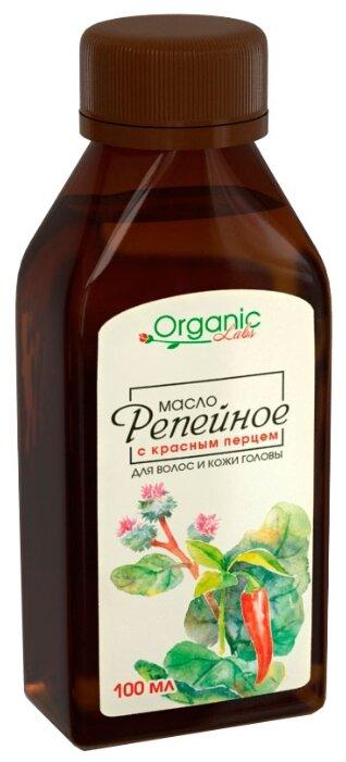 Organic Labs Масло репейное с красным перцем