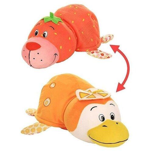 Купить Мягкая игрушка 1 TOY Вывернушка Ням-Ням Морской котик-Пингвинчик с ароматом 40 см, Мягкие игрушки