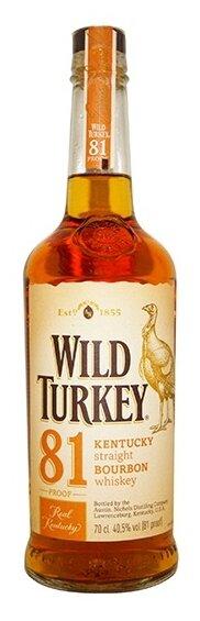 Бурбон Wild Turkey 81, 0.7 л