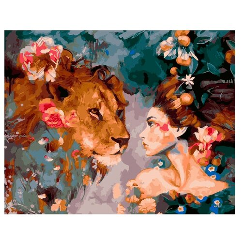 Купить ВанГогВоМне Картина по номерам Фантазийный мир , 40х50 (ZX 20551), Картины по номерам и контурам