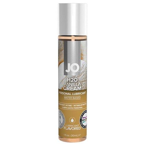 Гель-смазка JO H2O Vanilla Cream 30 мл флакон гель смазка duplex vanilla 50 мл флакон