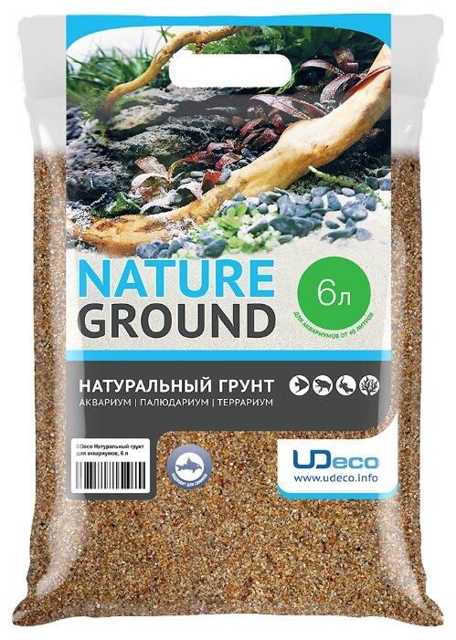 Грунт UDeco River Amber 0,4-0,8 мм 6 л, 9.9 кг