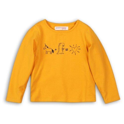 Лонгслив Minoti размер 2-3г, желтый свитшот minoti размер 2 3г зеленый