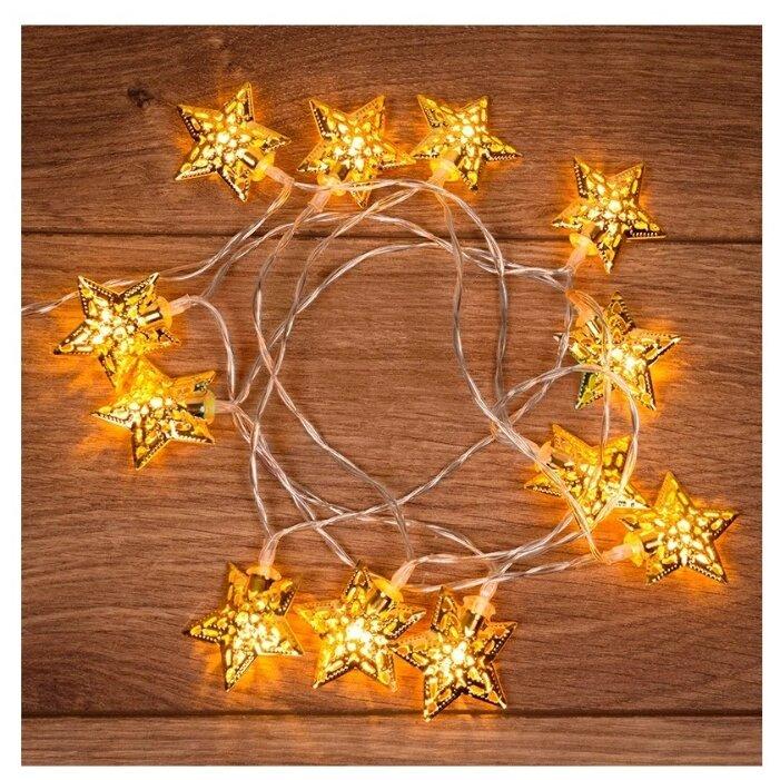 Гирлянда NEON-NIGHT Звезды 12 LED 120 см — купить по выгодной цене на Яндекс.Маркете