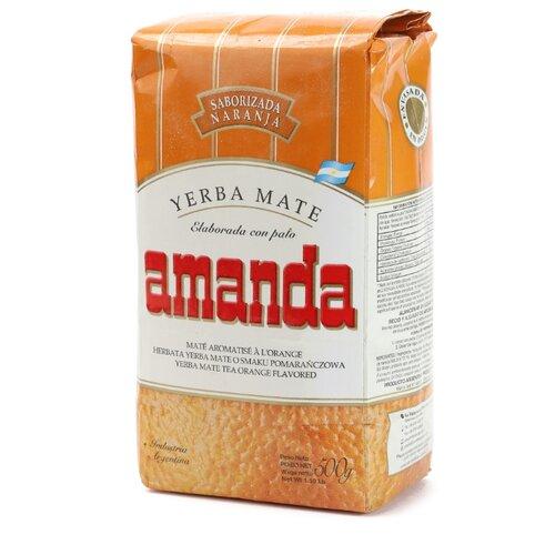Чай травяной Amanda Yerba mate Naranja , 500 г living диван amanda