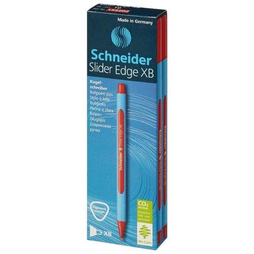Купить Schneider Набор шариковых ручек Slider Edge XB, 0.7 мм 10 шт., красная цвет чернил, Ручки