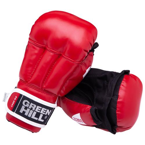 Любительские перчатки Green hill PG-2047 для рукопашного боя красный M 6 oz по цене 1 652