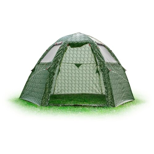 Палатка ЛОТОС 5 Мансарда камуфляж