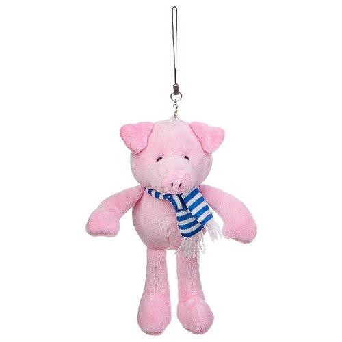 Мягкая игрушка-подвеска SNOWMEN Свинья, 9 см
