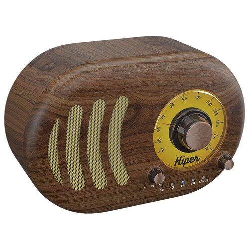 Купить Портативная акустика HIPER Retro S wooden