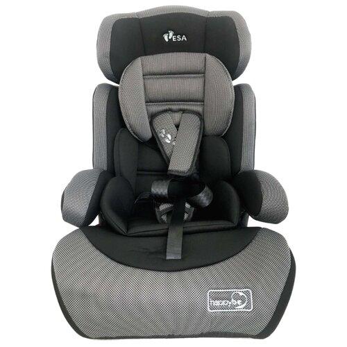 Автокресло группа 1/2/3 (9-36 кг) Happy Be YB702A, gray black автокресло happy baby mustang 2015 gray