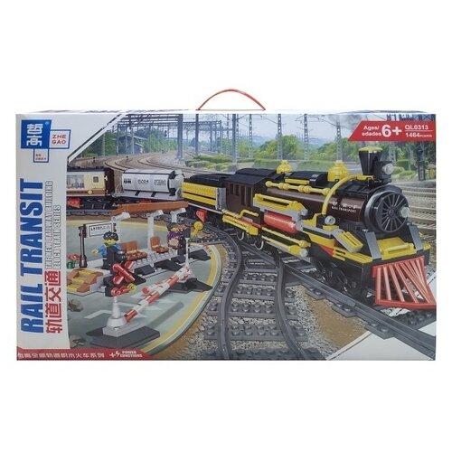 Купить Электромеханический конструктор Zhe Gao Rail Transit QL0313, Конструкторы