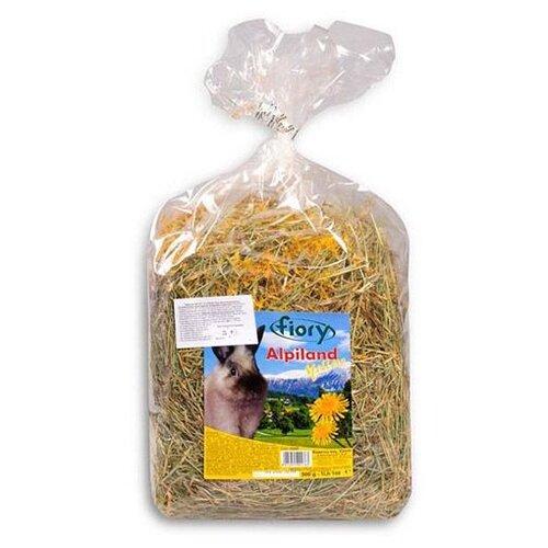 Корм для грызунов FIORY Alpiland Yellow сено с одуванчиком 500г
